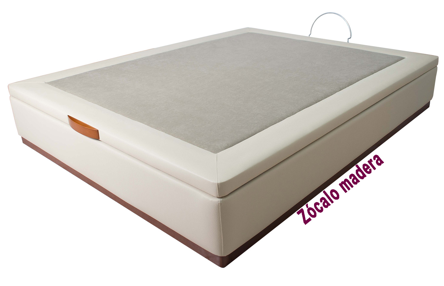 Cama con canape abatible canap abatible tapizado eva with for Canape abatible