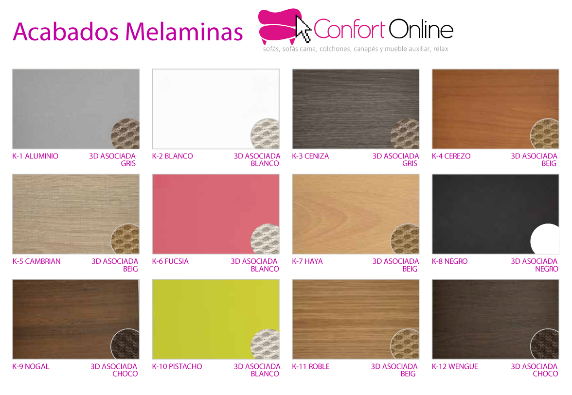 Colores Canapé Abatible Junior Confort Online