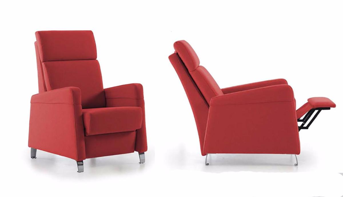 Sillones de descanso y relax sof relax piel lugo with - Sillones reclinables relax ...